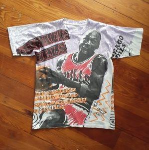 Graphic Michael Jordan Tshirt